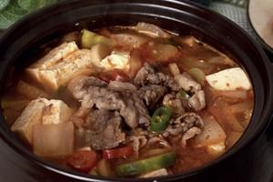 bean paste stew w beef